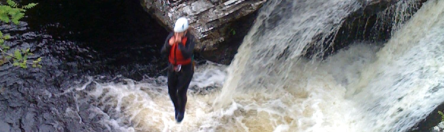 Canyoning Scotland