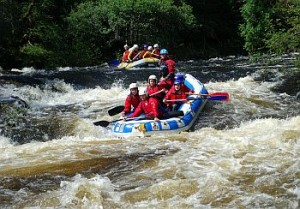 White water rafting Scotland with Active Highs
