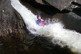 Canyoning with Active Highs