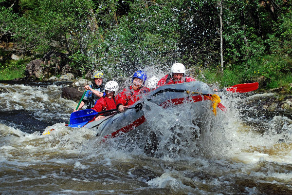 White Water Rafting Fort Augustus