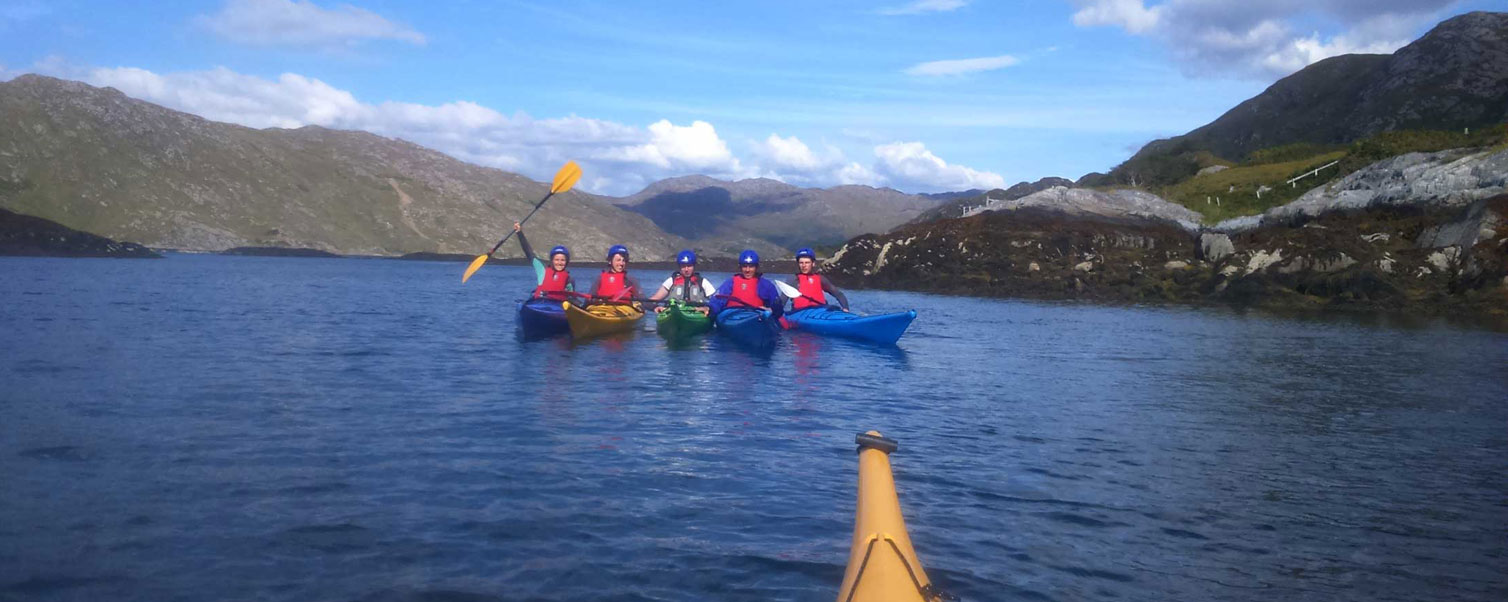 Sea Kayaking Trips in Arisaig & The Great Glen
