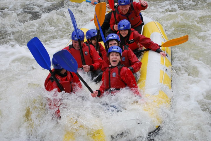 Whitewater rafting scotland