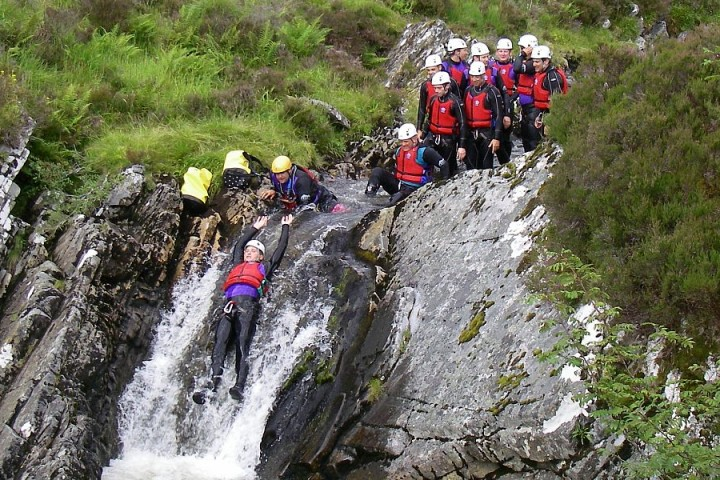 Stag doo canyoning