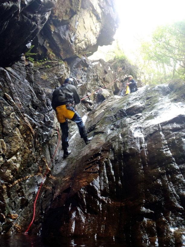 Ben Nevis Canyon