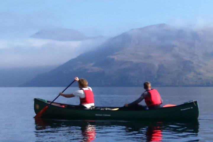 Canoeing Scotland