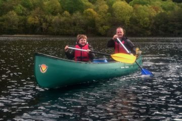 Canoeing Great Glen