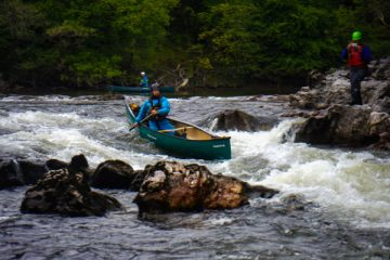 White Water Canoeing River Lochy