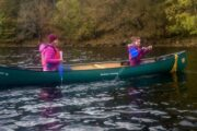 Canoeing Fort Augustus