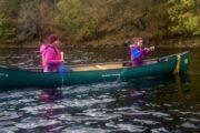 Canoeing Fort Augustus