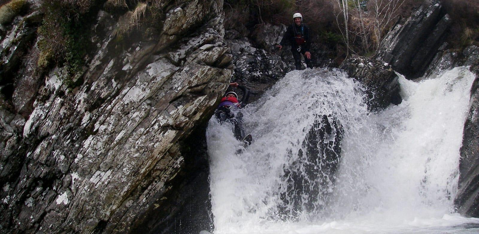 Ben Nevis Canyoning Trip