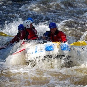 white water rafting gift voucher Scotland