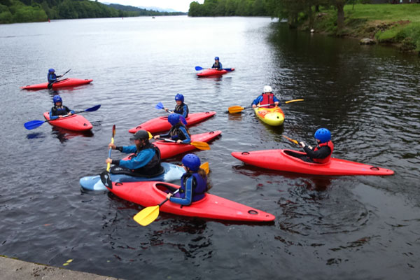 Kayaking Lessons Fort Wiliam