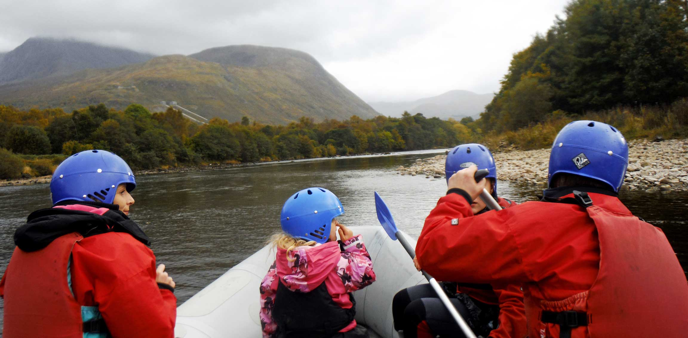 River Rafting Scotland