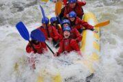 Whitewater rafting scotland
