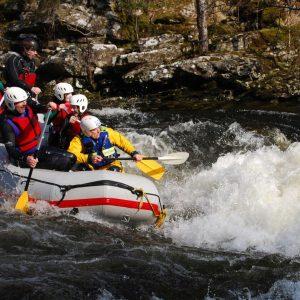 River Rafting Scotland