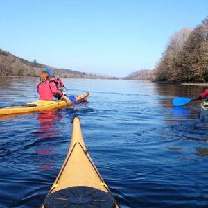 Kayaking Loch Ness