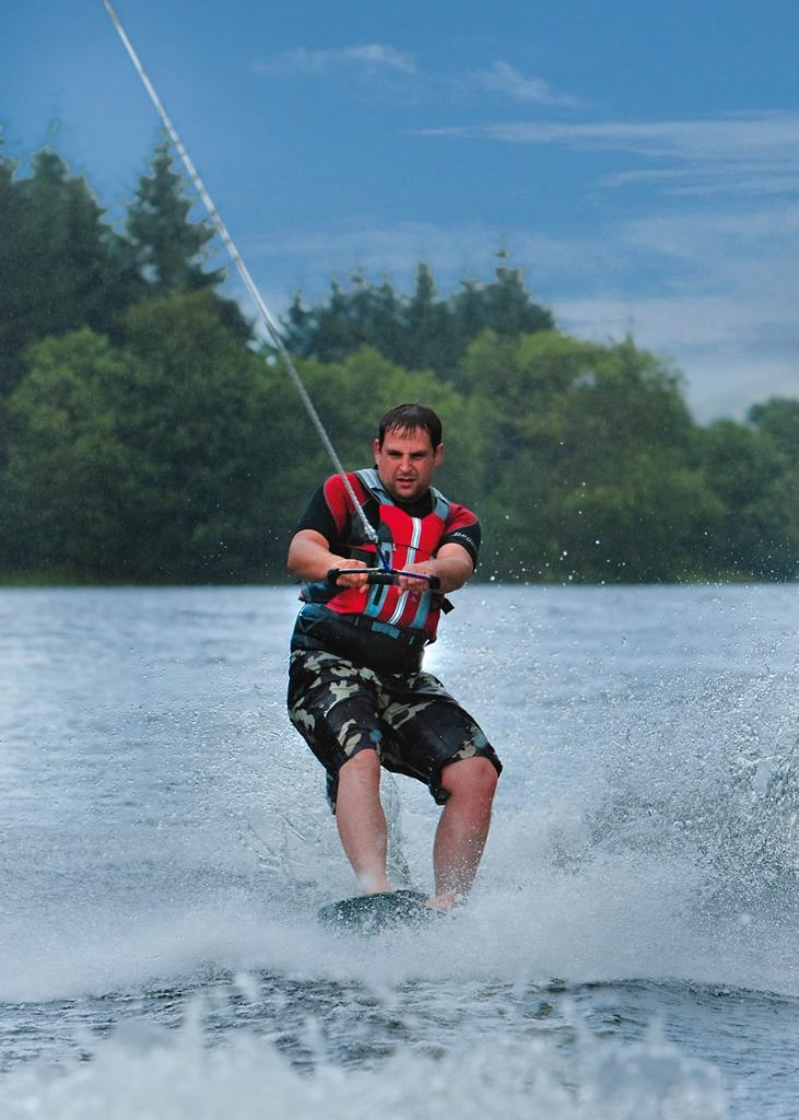 Wakeboarding in Fort Wiliam