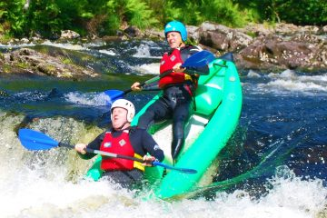 white water kayak trips in Fort William