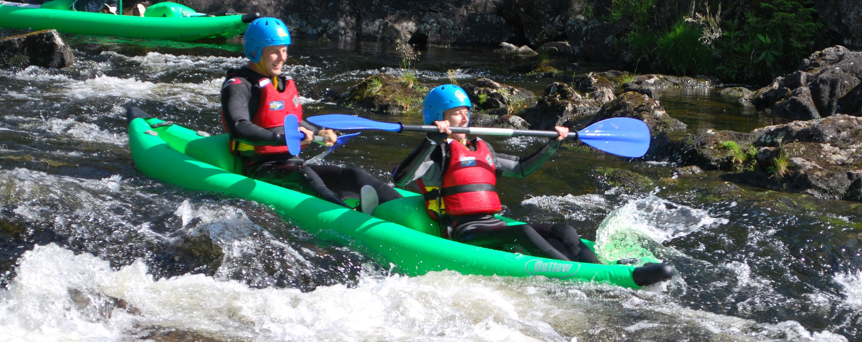 Kayak Trips in Scotland with Active Highs