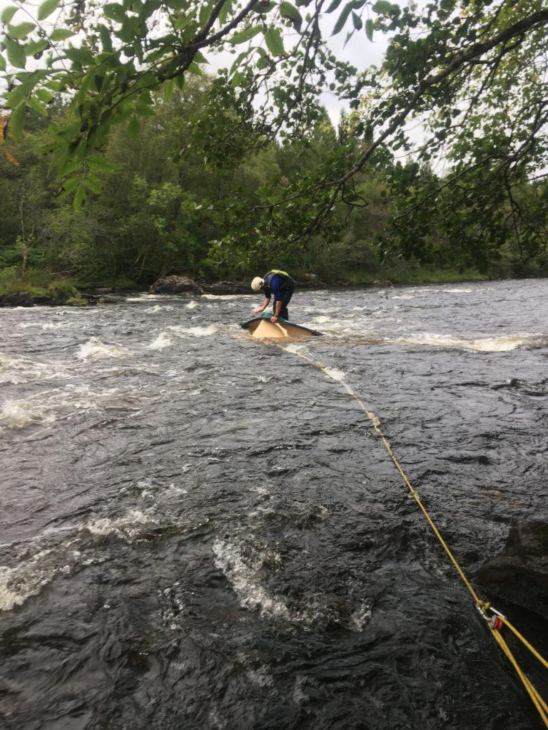 Fraser wading out