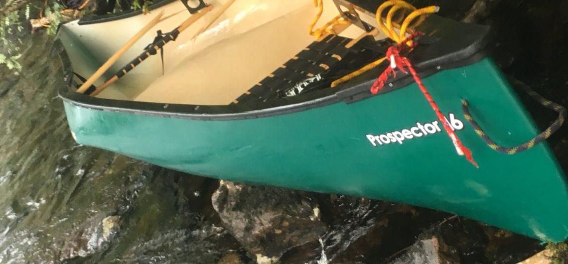 folded canoe