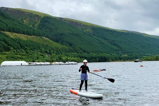 SUP Fort William with Active Highs